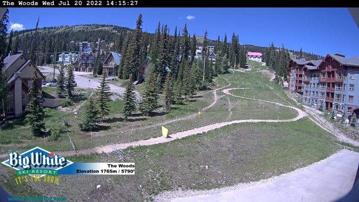 Webcam de la Estación de Esquí de Big White