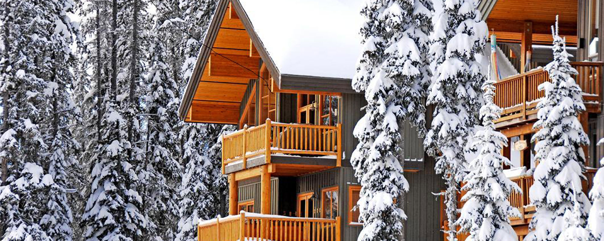 Woodcutter cabins