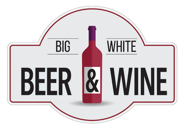 Big White Beer and Wine Logo