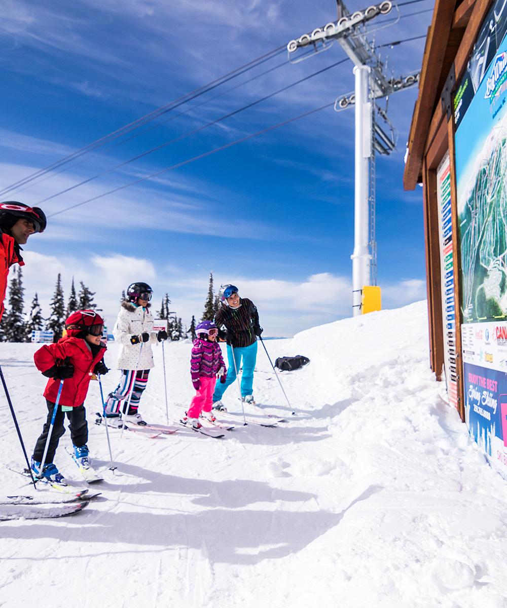 Maps Brochures Big White Ski Resort