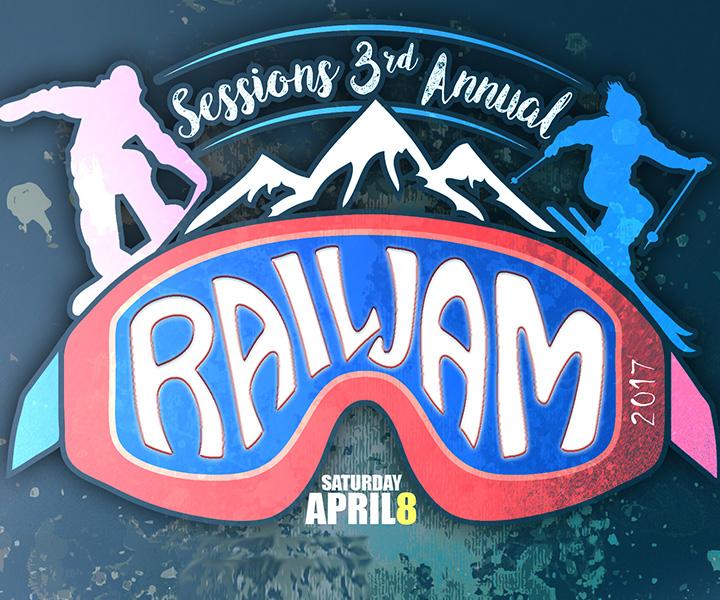 Sessions 3rd Annual Rail Jam   Big White