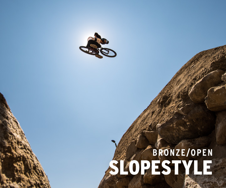 Bronze slopestyle
