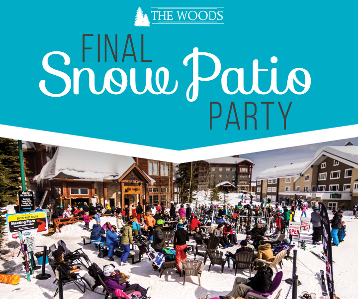 Woods Final Snow Patio Party