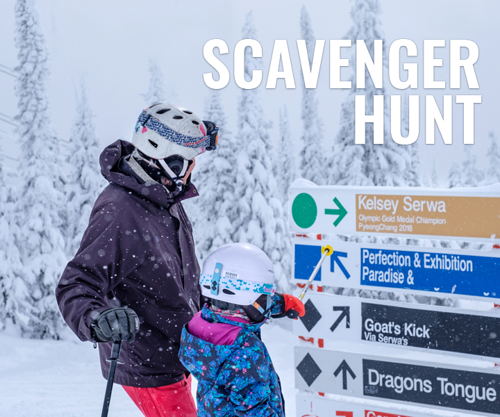 Big White Scavenger Hunt