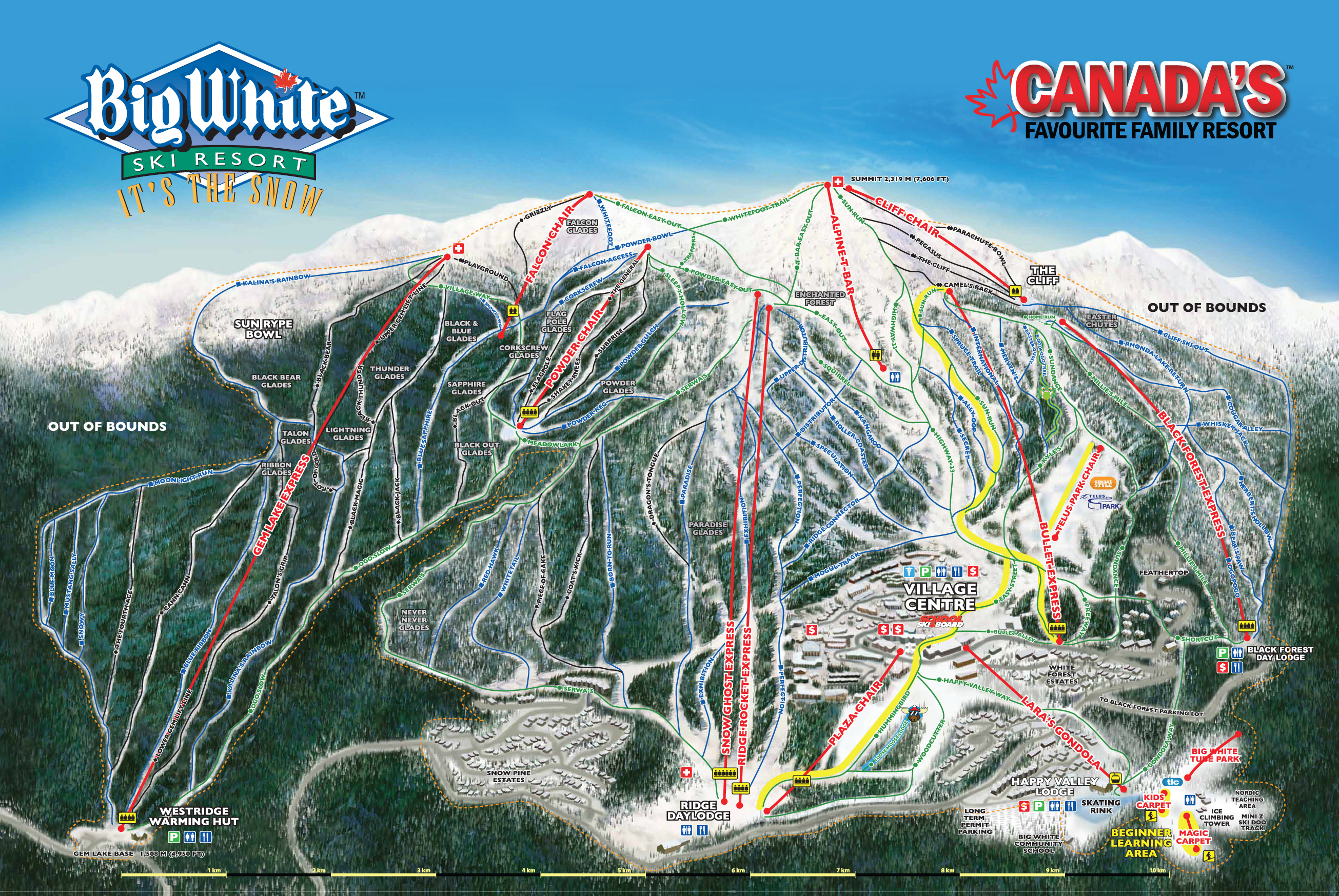 maps & brochures | big white