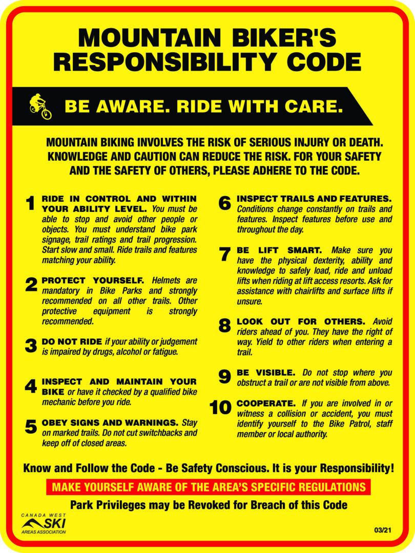 Bike Responsibility code