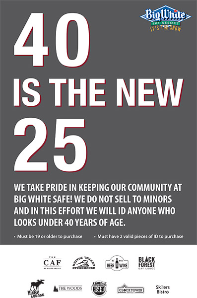 40 is the new 25!