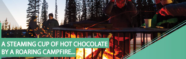 Bonfire and hot chocolate event