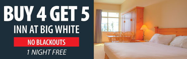 5 for 4 Inn at Big White