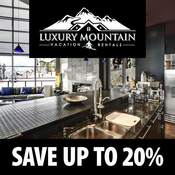 Luxury mountain vacation