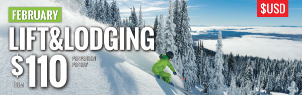 February lift & lodging US