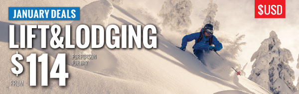 January lift and lodging