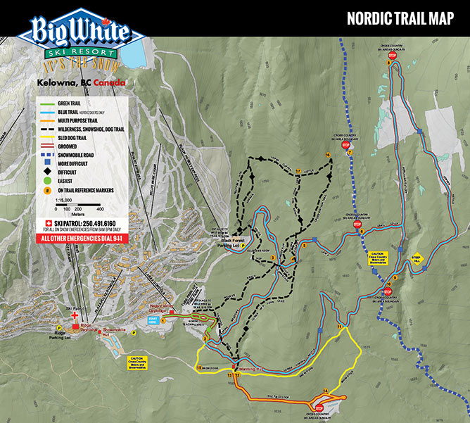 Maps & Brochures | Big White Ski Resort