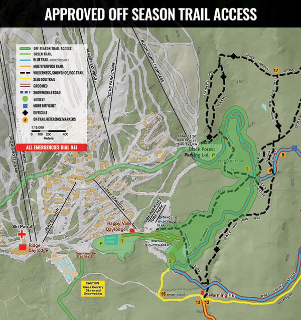 off season acess map