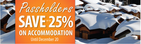 passholders accommodation specials