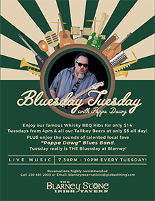 Blarney Bluesday Tuesday