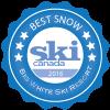 Ski canada best snow