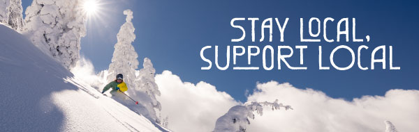 Stay local support local