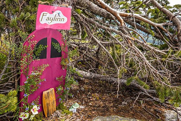 Fairy door geo hike