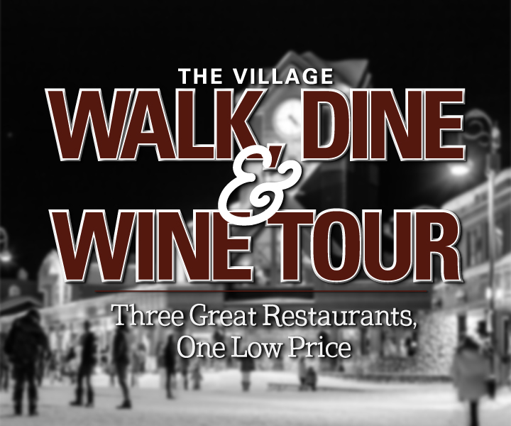 Walk wine dine