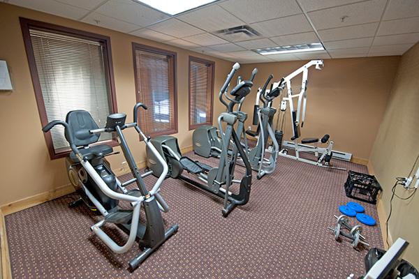 Inn at Big White Fitness Room