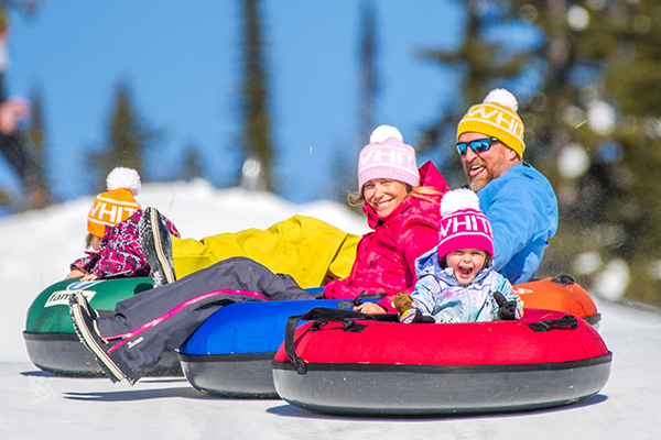 Add tubing to your list of winter fun