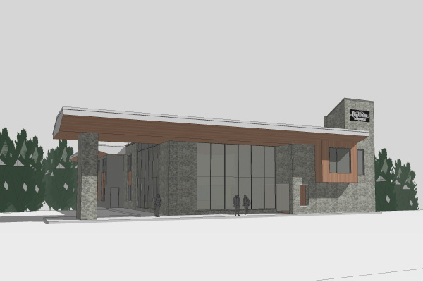 Cen Res building rendering