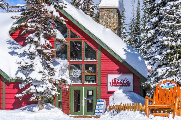 Dizzy's ski shop