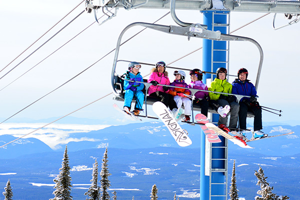 family chairlift