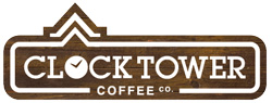 Clocktower coffee logo