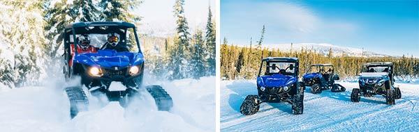 Snowmobile Tours Big White