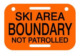 Patrolled boundary