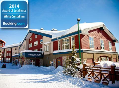 White Crystal Inn receives 2014 Award of Excellence from Booking.com