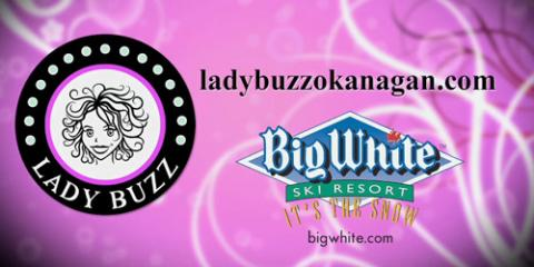 Lady Buzz meets with Mellen Gorman of Big White's Ski & Board School