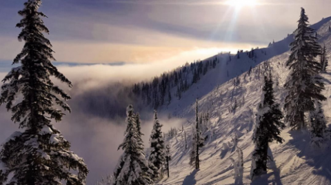 Life above the clouds: The week of inversions at Big White Ski Resort