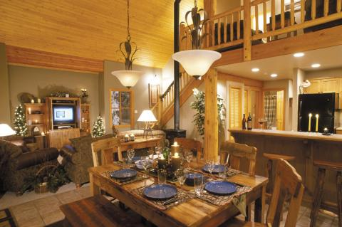 Bullet Creek Cabins Interior