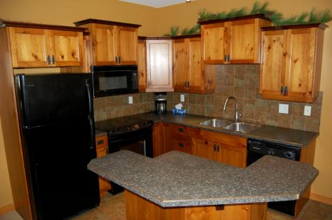 Bear Paw Interior Kitchen