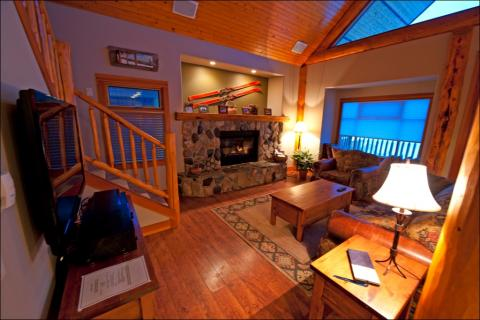 Woodcutter Cabins Interior
