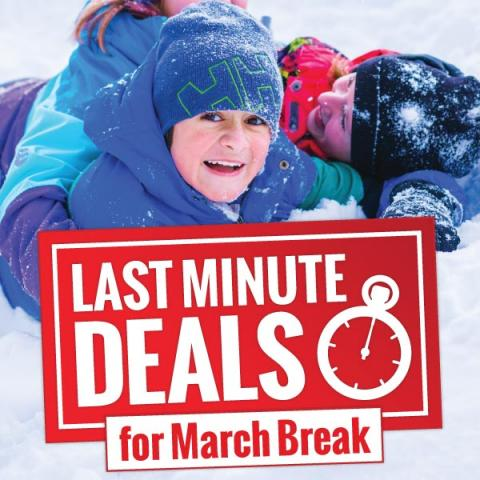 Last Minute March Deals