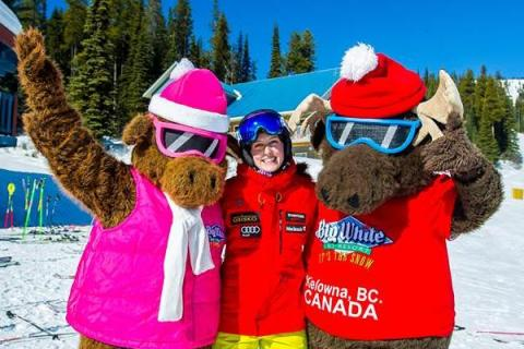 Kelsey Serwa at Big White Ski Resort
