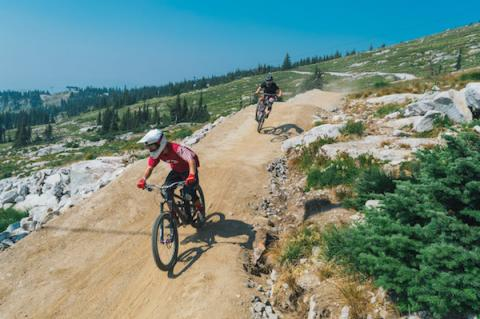 Bike Big White now open