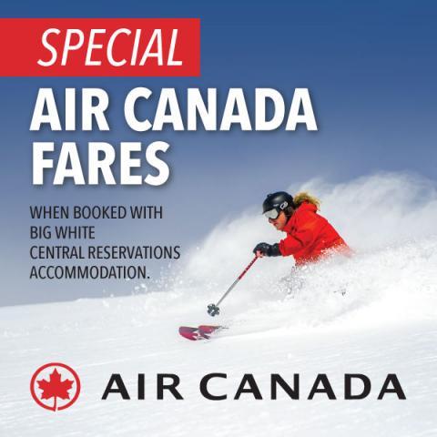 Special Air Canada Fares
