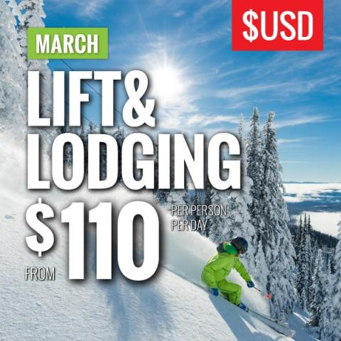 March lift and lodging US