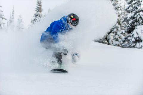 Powder Floating