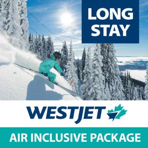 WestJet air inclusive package