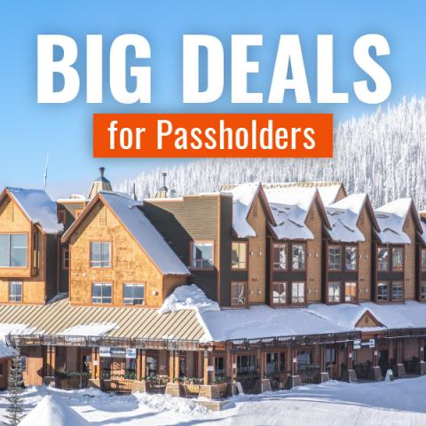 BIG Deals for Passholders